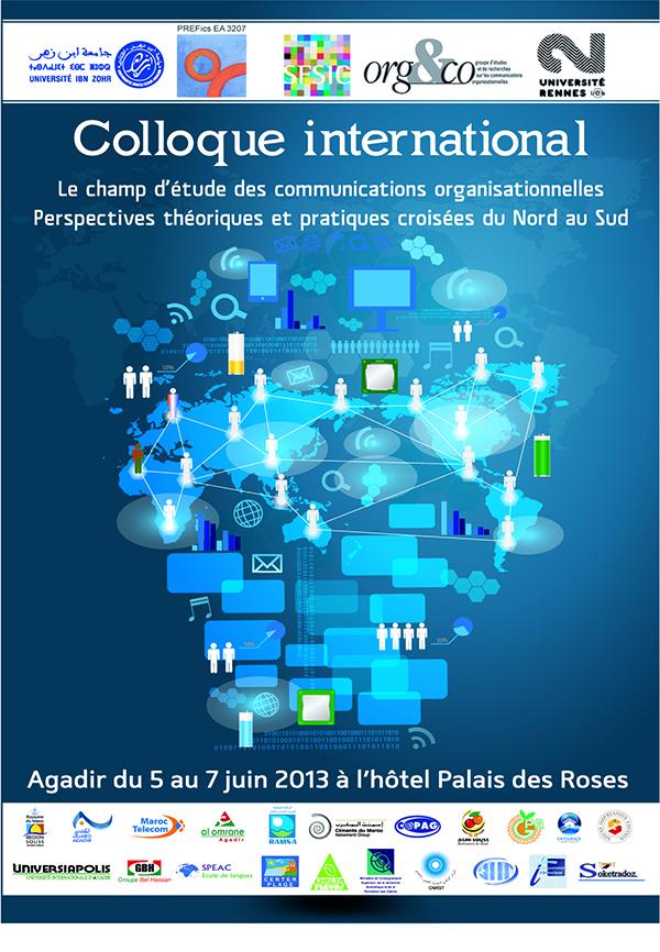 Colloque International: Le champs d'étude des communications organisationnelles