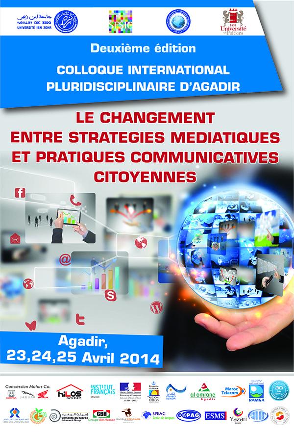 2ème édition colloque international: Le changement entre stratégies médiatiques et pratiques communicatives citoyens
