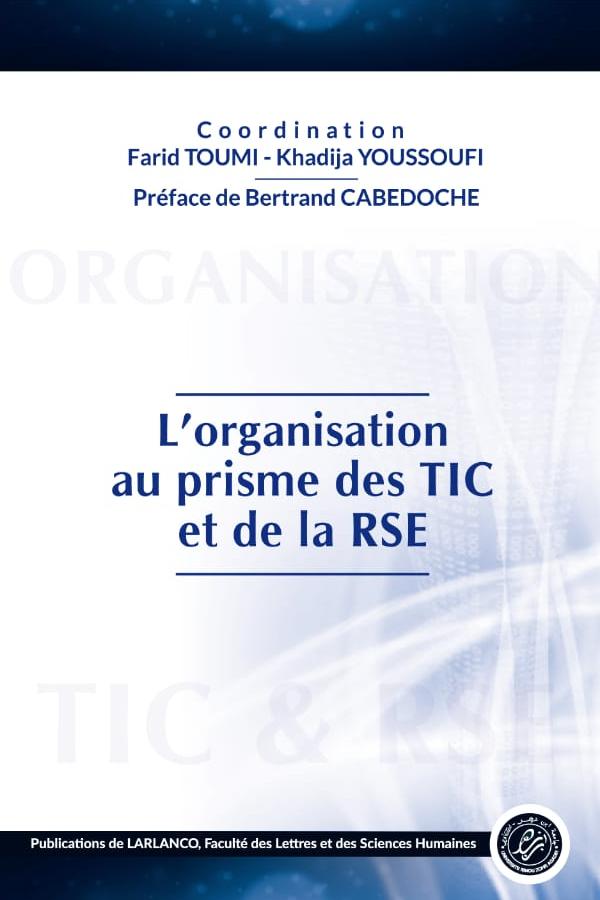 L'ORGANISATION AU PRISME DES TICS ET DE LA RSE